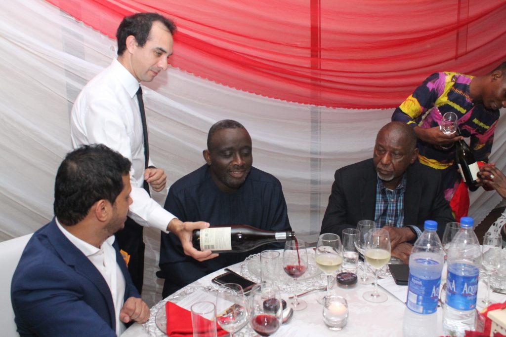 Emirates Wine Tasting Event