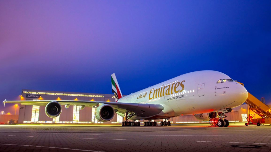 Latest Biofuel Powered And Emissions Reduction A380s From Emirates